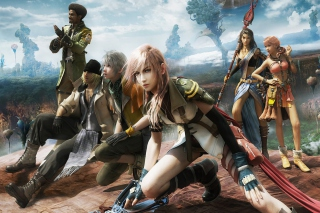 Final Fantasy XIII - Obrázkek zdarma pro Nokia Asha 201