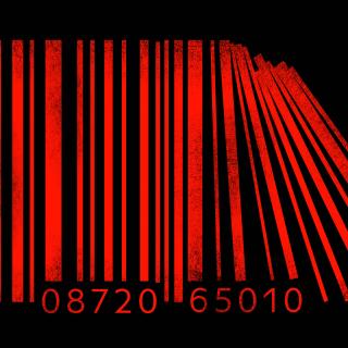 Minimalism Barcode - Obrázkek zdarma pro iPad Air
