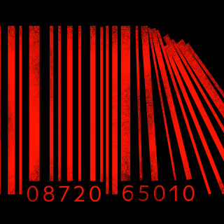 Minimalism Barcode - Obrázkek zdarma pro iPad 3