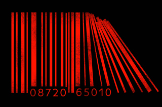 Minimalism Barcode - Obrázkek zdarma pro Samsung Galaxy Ace 4