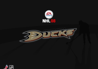 Nhl 08 Ducks Background for Android, iPhone and iPad