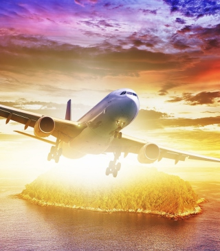 Plane Take off - Obrázkek zdarma pro Nokia X1-00