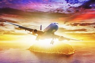 Plane Take off - Obrázkek zdarma pro Desktop 1280x720 HDTV