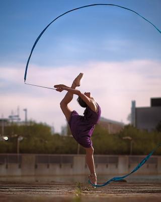 Beautiful Gymnastics - Obrázkek zdarma pro Nokia Asha 308