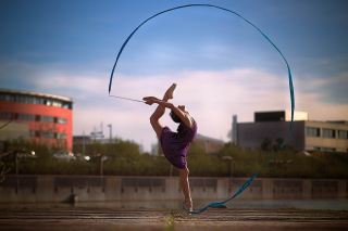 Beautiful Gymnastics - Obrázkek zdarma pro Samsung Galaxy Q
