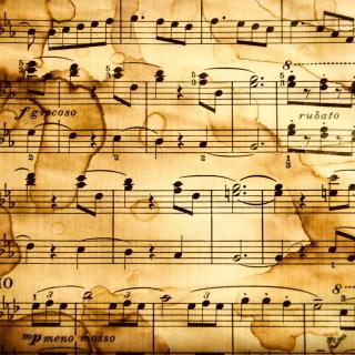 Musical Notes - Obrázkek zdarma pro 320x320