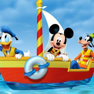 Mickey Mouse Clubhouse - Obrázkek zdarma pro 208x208