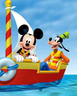 Mickey Mouse Clubhouse - Obrázkek zdarma pro 320x480
