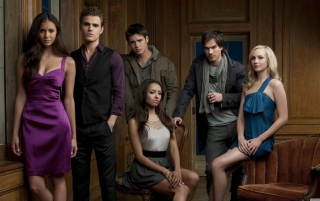 The Vampire Diaries - Obrázkek zdarma pro 1200x1024