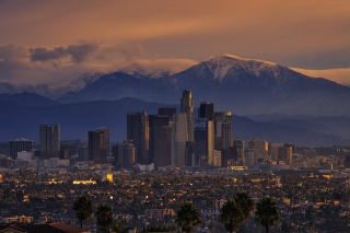 Los Angeles, California Panorama Picture for Android, iPhone and iPad