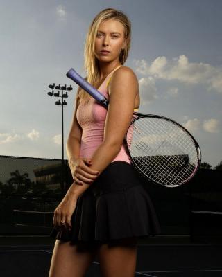 Maria Sharapova - Obrázkek zdarma pro Nokia C5-03