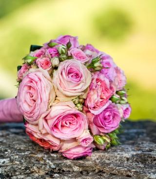 Wedding Bridal Bouquet - Obrázkek zdarma pro 240x432