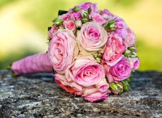 Wedding Bridal Bouquet - Obrázkek zdarma pro 1024x600