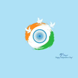 15th August Indian Independence Day - Obrázkek zdarma pro 208x208