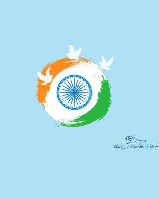 15th August Indian Independence Day - Obrázkek zdarma pro 768x1280