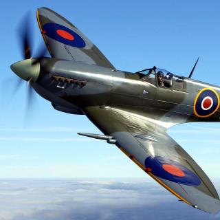 Supermarine Spitfire - Obrázkek zdarma pro 208x208