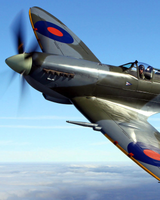 Supermarine Spitfire - Obrázkek zdarma pro Nokia X2-02