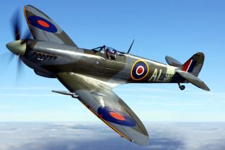 Supermarine Spitfire - Obrázkek zdarma pro 480x360