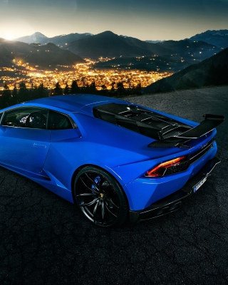 Lamborghini Huracan - Obrázkek zdarma pro 480x640