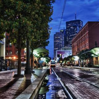 USA Texas, Dallas City - Obrázkek zdarma pro iPad mini 2