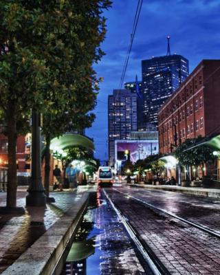 USA Texas, Dallas City - Obrázkek zdarma pro iPhone 4S