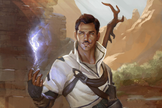 Dorian Pavus Dragon Age Game Background for Android, iPhone and iPad
