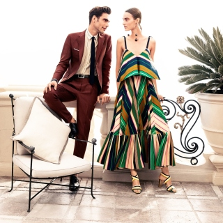 Salvatore Ferragamo Summer Fashion - Obrázkek zdarma pro iPad 2