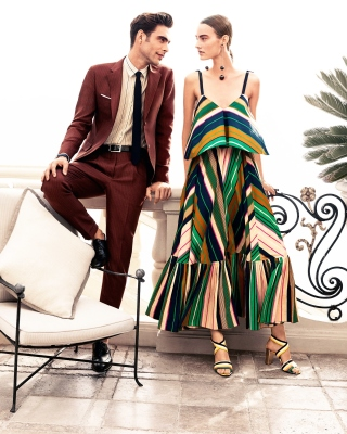 Salvatore Ferragamo Summer Fashion - Obrázkek zdarma pro 240x320