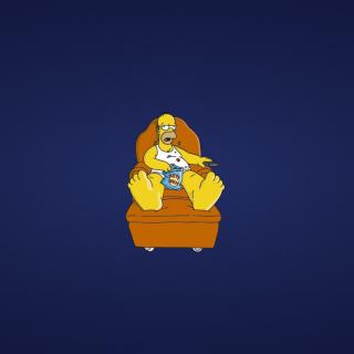 Homer Simpsons - Obrázkek zdarma pro iPad