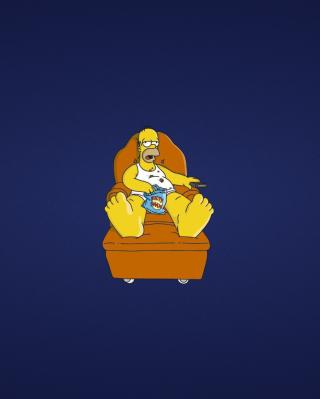 Homer Simpsons - Obrázkek zdarma pro Nokia C-Series