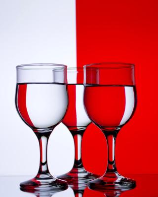 Red White Stemwares - Obrázkek zdarma pro 320x480
