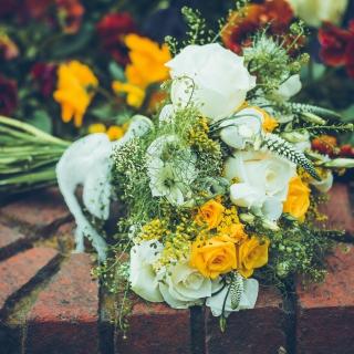 Bridal Bouquet - Obrázkek zdarma pro iPad 2