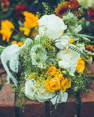 Bridal Bouquet - Obrázkek zdarma pro Nokia X1-01