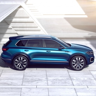 Volkswagen T Prime Concept GTE - Obrázkek zdarma pro iPad Air