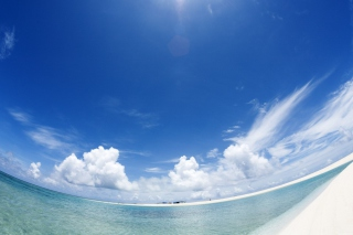 Beach Panorama Background for Android, iPhone and iPad