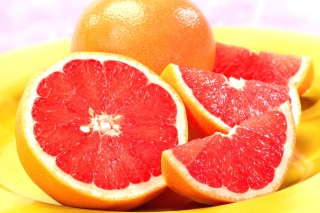Red Grapefruit Wallpaper for Android, iPhone and iPad