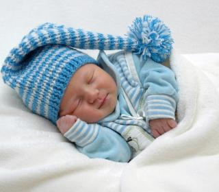 Happy Baby Sleeping - Obrázkek zdarma pro iPad