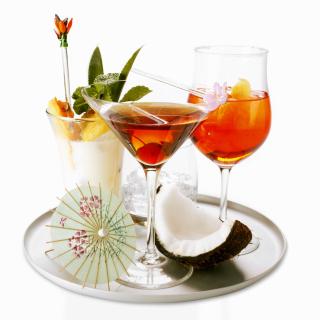 Cocktails - Obrázkek zdarma pro 208x208
