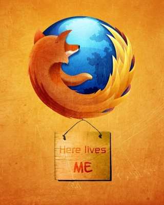 Firefox Internet Shield - Obrázkek zdarma pro Nokia Lumia 822