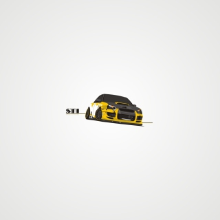 Subaru STI - Obrázkek zdarma pro iPad mini 2