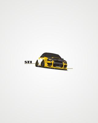 Subaru STI - Obrázkek zdarma pro 480x854
