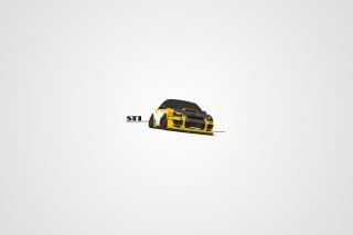 Subaru STI - Obrázkek zdarma pro 1366x768