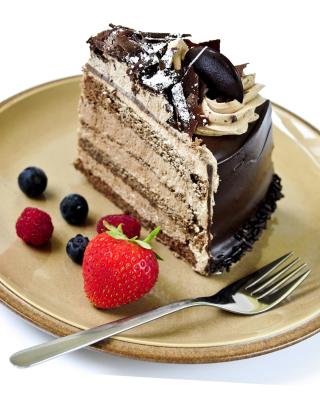 Red velvet cake - Obrázkek zdarma pro 240x320