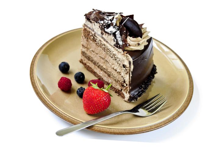 Red velvet cake wallpaper