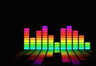 Colorful Beats Background for Android, iPhone and iPad
