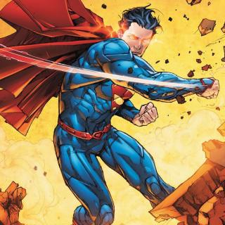 Superman - Obrázkek zdarma pro iPad Air