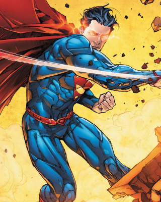 Superman - Obrázkek zdarma pro 320x480