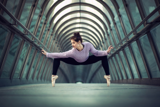 Ballerina - Obrázkek zdarma pro 1280x1024