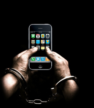 IPhone Dependency - Obrázkek zdarma pro Nokia Asha 300