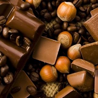 Chocolate, Nuts And Coffee - Obrázkek zdarma pro 320x320
